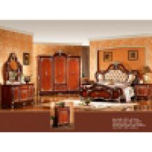 Chambre classique avec lit ancien et armoire (W815)