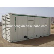 800KW / 1000kva silencioso generador diesel generador de energía conjunto