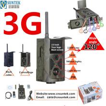 12MP FHD MMS GPRS SMS Commande 3G Wild Camera Pas de Flash WCDMA HC500G pour le Suivi des Animaux