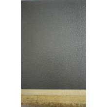 Dark gray bead epoxy flat coating