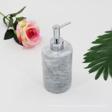 Dispensador home criativo do sabão líquido do granito do distribuidor da loção de mármore com bomba de aço inoxidável