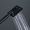 HIDEEP Black Shower Set Wall Mounted Shower Faucet
