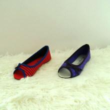 Низкие клиновые насосы с затылком и смычком для детской обуви детская обувь