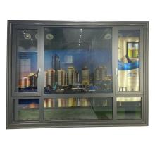 WANJIA thermal break aluminum casement windows aluminum windows
