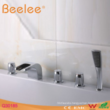 Bathroom Bathtub Brass Waterfall Faucet Q30185