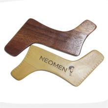 FQ marca madeira shaper barba modelagem ferramenta