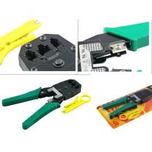 Alicates de cable, Alicates de línea telefónica, Al-8p8c, 6p6c, 4p4c