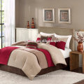 Madison Park Sundance Comforter Duvet Cover Pieced Ensemble de literie rouge