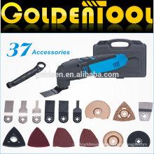 Hot Selling 37pcs 220w Portable Handheld Oscillating Vibrating Multifunction Electric Power Tool