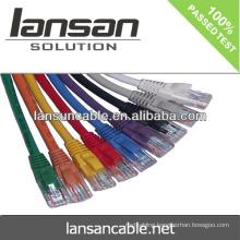 LANSAN Professional High Speed cat6 utp patch cord / jumping cord PVC/LSOH ETL/UL/ROHS/ANATEL