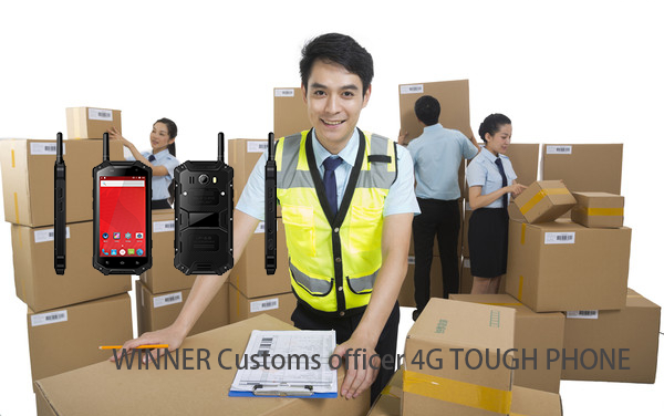 WINNER Customs officer 4G TOUGH PHONE