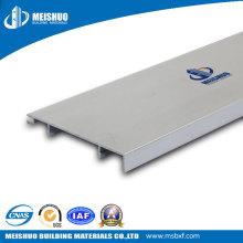 Matériau en aluminium souple au sol en bois Jumelages blancs