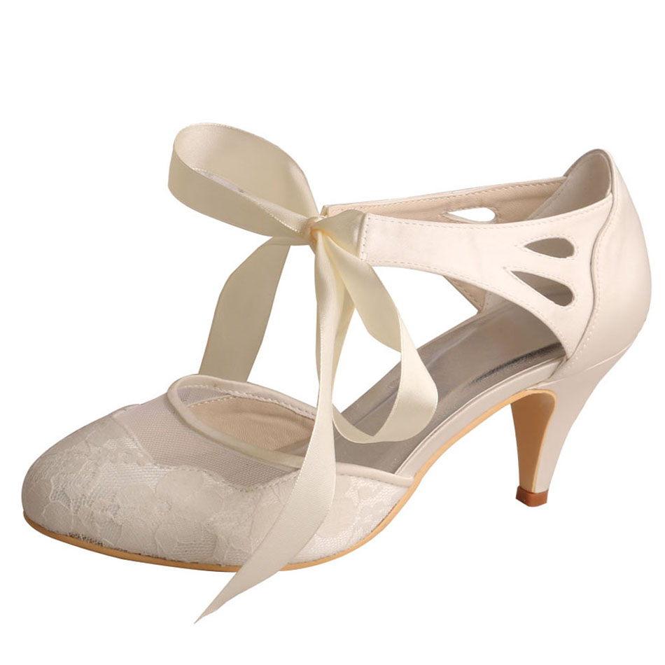 Wedding Shoes for Bride Ivory