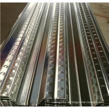 Hoja de plataforma de piso de metal galvanizado
