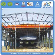 Fast installed EPS/PU/XPS sandwich panel steel structure workshop