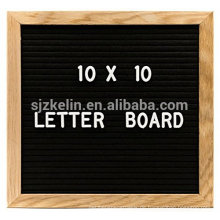 Heißer Verkauf Holz 10x10 Filz Brief Board