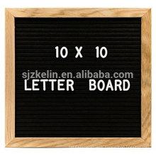 Hot Sale Wooden 10x10 felt letter Board