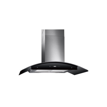 90cm Hood Glass Kitchen Extractor Range Hoods