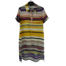 Ladies' Striped Casual Dress