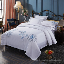 Premium Brand Embroideried Hotel Living Bedding Sets