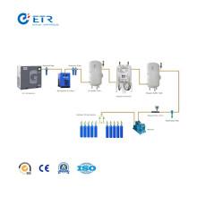 Equipo de estación de llenado de cilindro de oxígeno PSA de alta tecnología