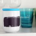 керамический чай канистра кофе с силиконовой крышкой