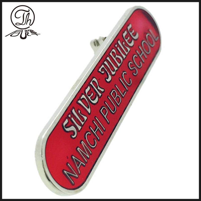 school pin badge