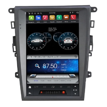 12,1 '' Tesla Android Car Audio pour Mondeo 2013-2017
