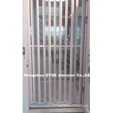 Folding transparent doors from folding doors industrial