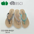 Fashion Women Summer New Design Flipflops en plastique