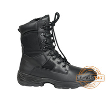 Flame Retardant Black Army Tactical Boots, Combat Boots for Security Tactical Outdoor