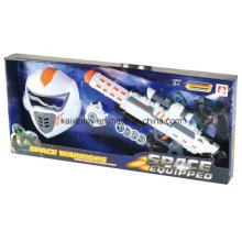 Лучшее качество игрушка космический меч и пистолет для продажи