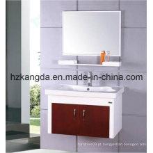 Gabinete de banheiro de madeira maciça / vaidade de banheiro de madeira maciça (KD-425)