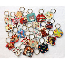 Sublimation Double-Side Printable MDF Keychain