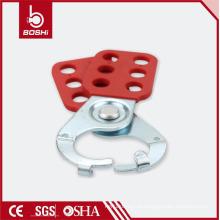 "BOSHI BD-K21 / K22 Steel Lockout Hasp com 6 ganchos, 1 ""/ 1,5"" Shackle"