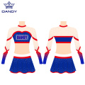 AB Crystals Sublimated Cheerleaders Uniformen