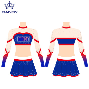 AB Crystals Sublimowane mundury cheerleaderek