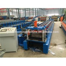 Seam standing roll forming machine