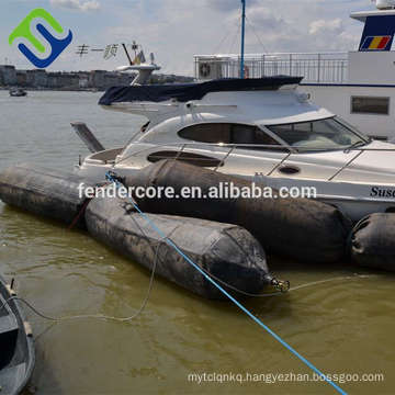 Chinese manufacturer floating ship salvage rubber airbag, marine equipment