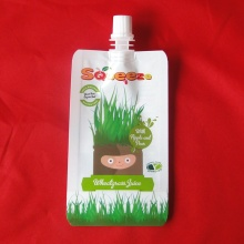 Printing Plastic Spout Pouch for Juice Packing