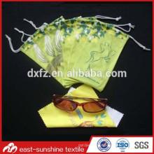 Factory Supplying Customize fabric Soft eyeglasses case&bags