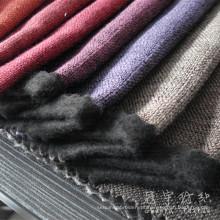 Estofos em tecido de linho decorativo do poliéster