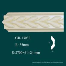 Gießbare und modische Produkte PU Schneiden Krone Formteil mit hoher Dichte
