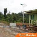 30W luces solares al aire libre