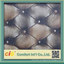 mancha de cuero de la PU de la resistencia de la mancha con variante colorways