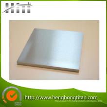 Plaque et plaque d'alliage de nickel et de nickel ASTM B162