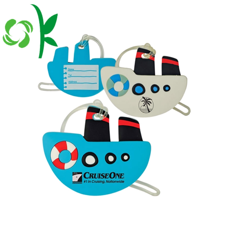 Cartoon Luggage Tag