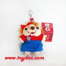 Cute Plush Animal Key Chains