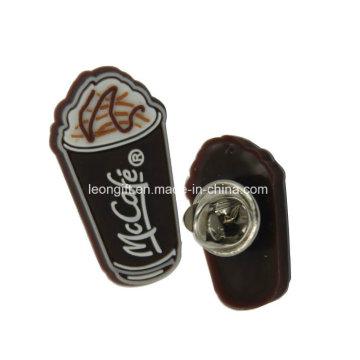 Оптовая горячие продажи компании логотип ПВХ лацкан PIN-код поощрения