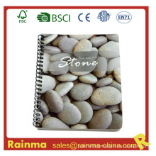 Spiral Notebook with Stone Paper